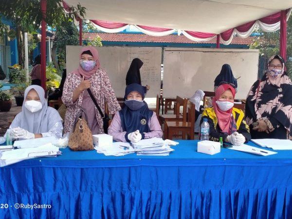 Vaksinasi COVID-19 untuk Peserta Didik MTsN 7 Jakarta