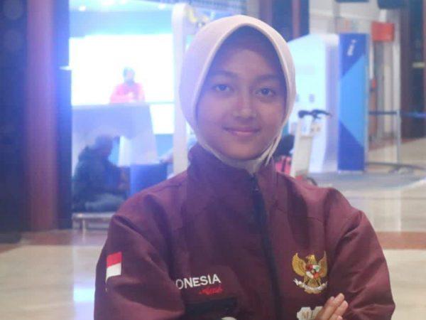 PON XX Papua: Syifa Azzahra Andrian Sabet Juara 2 Katagori Individual Triathle dalam Cabang Olahraga Modern Pentathlon pada PON XX Papua